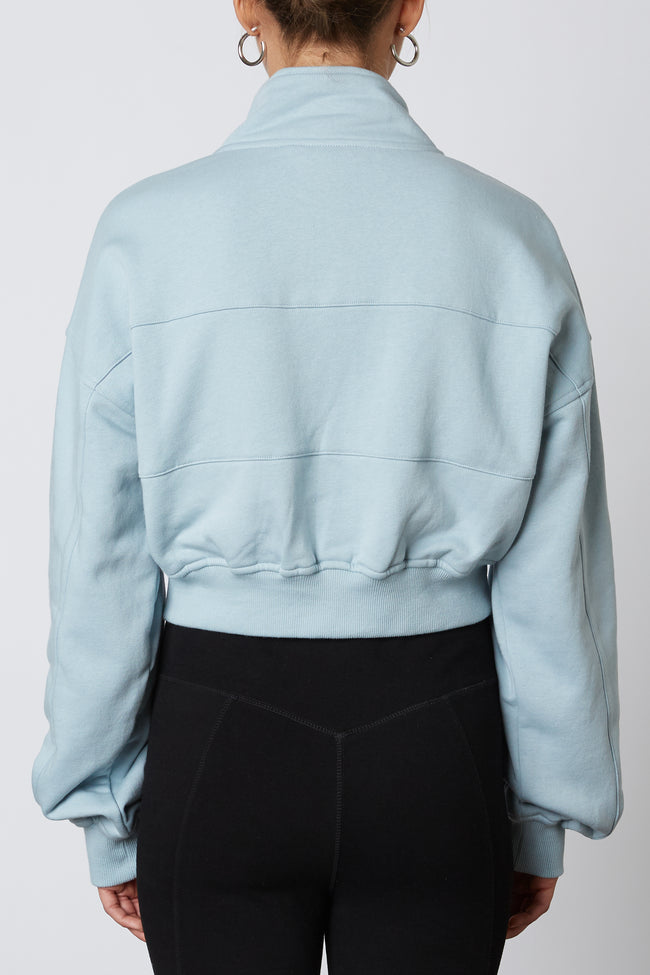 Seamed Quarter Zip