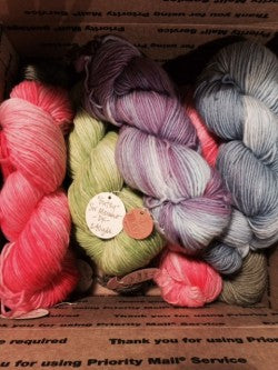 Beautiful soft as a cloud DK Merino by Brave Little Thread