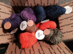 400 lovely yards of sock yarn by Brave Little Thread