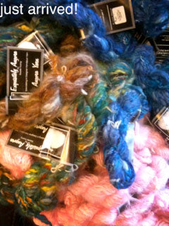 Shipment of Exquisitly Angora and Moira Mohair