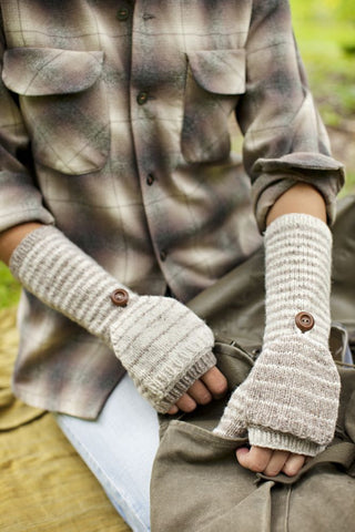 Brooklyn Tweed Shipyard Mitts Pattern