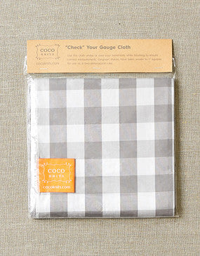 cocoknits Gauge Cloth
