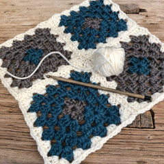 Beginning Crochet With Judith - 3 Sessions Saturdays  April  7th, 14th, 21st 11:00 to 1:00pm