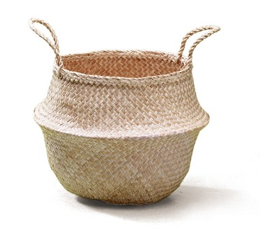 Lantern Moon Rice Mini Basket