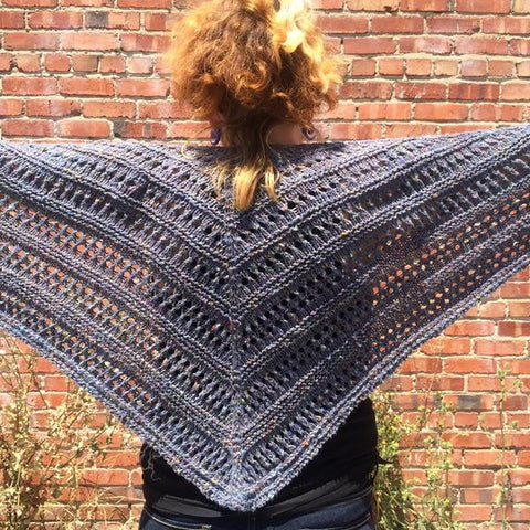 Sonoma Coast Shawl Pattern PDF Download Only