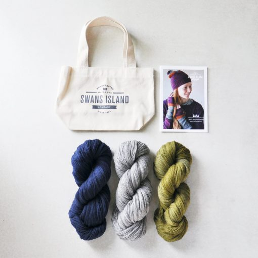 Zara Hat and Mitts Kit by Swans Island