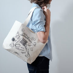 Knitting Necessities Tote Bag by Fringe Supply
