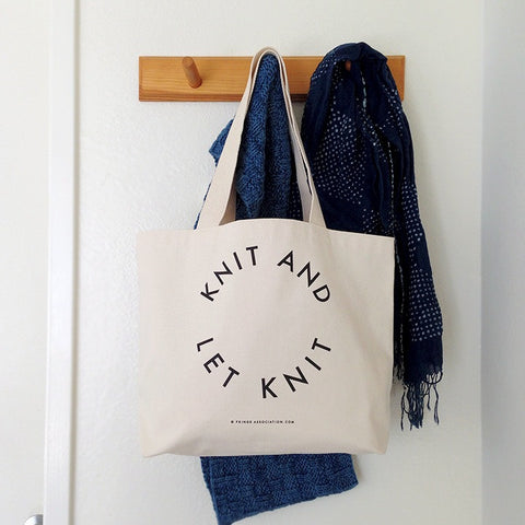 Fringe Supply Knit and Let Knit Tote