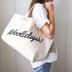 Woollelujah! Tote Bag by Fringe Supply