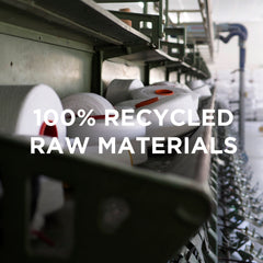 clothing made from 100% recycled materials