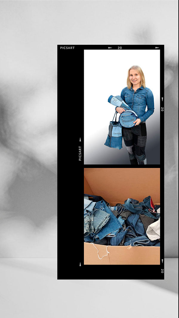 Piece of Jeans recycles used jeans