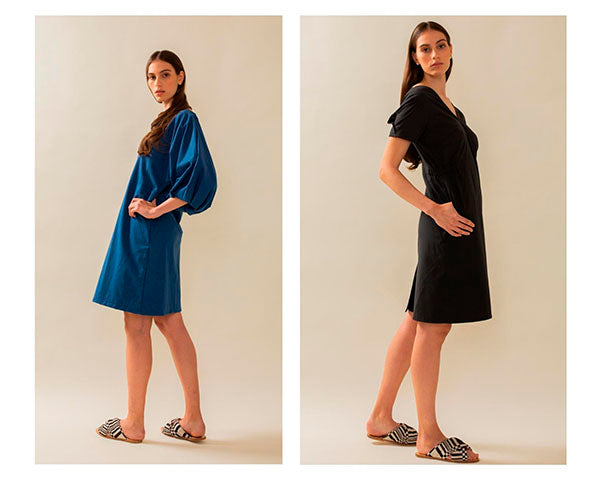 TAUKO dresses made of recycled material
