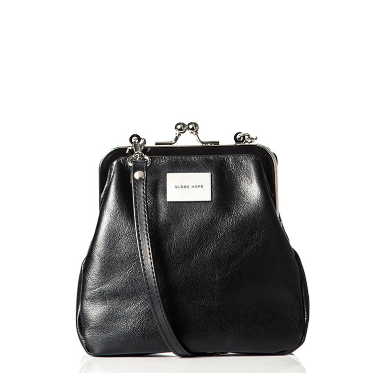 Globe Hope small shoulder bag with surplus leather