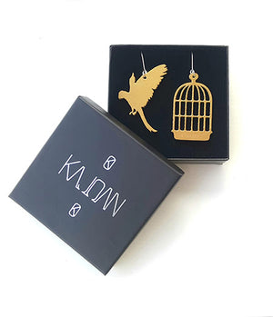 Cage bird black, Kajoan  Design