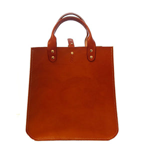 Handmade leather bag with shoulder strap Roihuvuoren Nahka