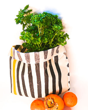 Durable bag for storing food with eco-film