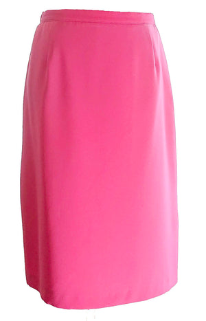 Pink Pola skirt second hand made in Finland