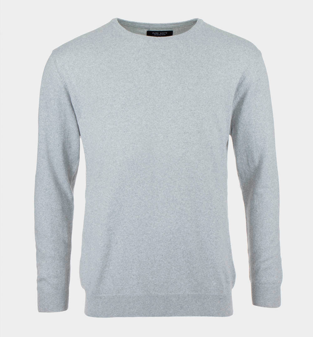 Pure Waste men's sweater gray
