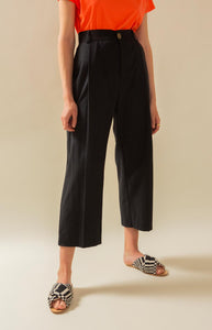TAUKO, Wide leg straight pants Mya slacks,