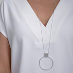 Tuohi Jewelry necklace in 100% recycled silver