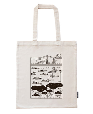 Hietsu canvas bag in recycled cotton