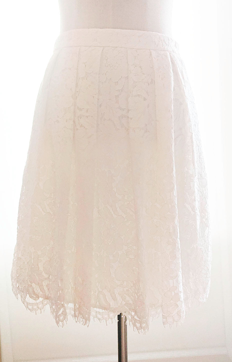 White lace skirt Esprit used