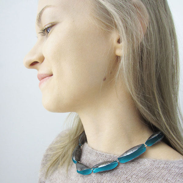 Necklace Ruusa, different colors. Saara Ruskola