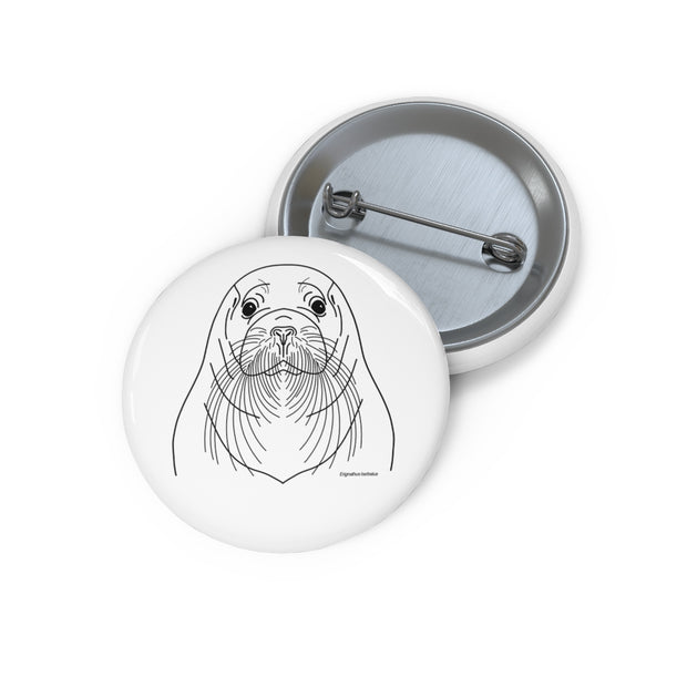 Bearded Seal - Button