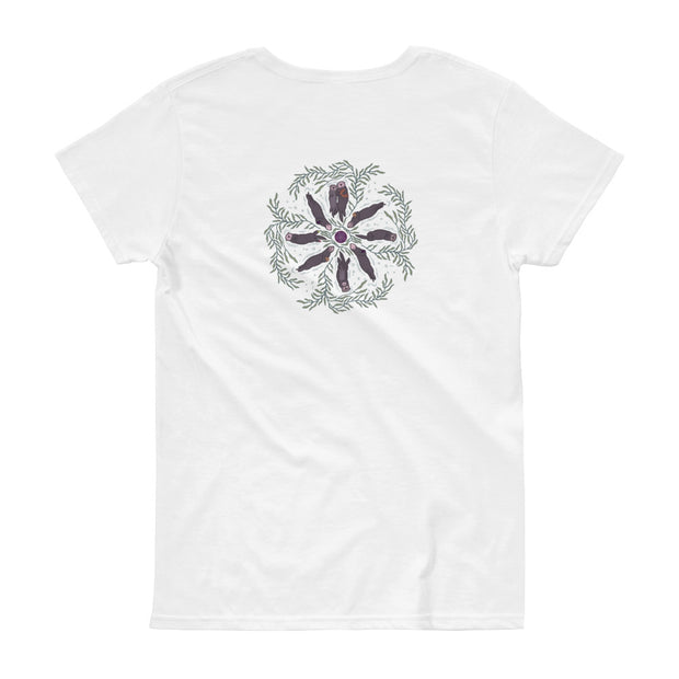 Sea Otter Mandala - Women's T-shirt (Back Design)