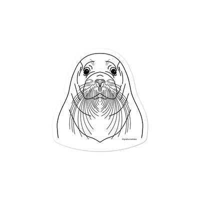 Bearded Seal - Sticker