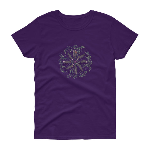 Sea Otter Mandala - Women's T-shirt (Front Design)