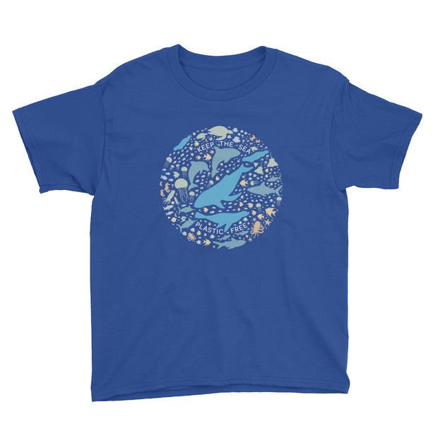 Keep the Sea Plastic Free - Youth T-Shirt