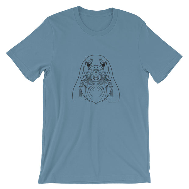 Bearded Seal - Unisex T-Shirt (Front Design)