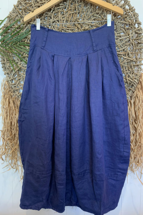 BELLE SKIRT IN BLUE DUSK
