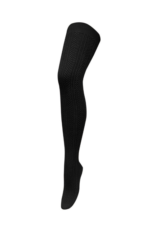 CHIC TIGHTS IN BLACK