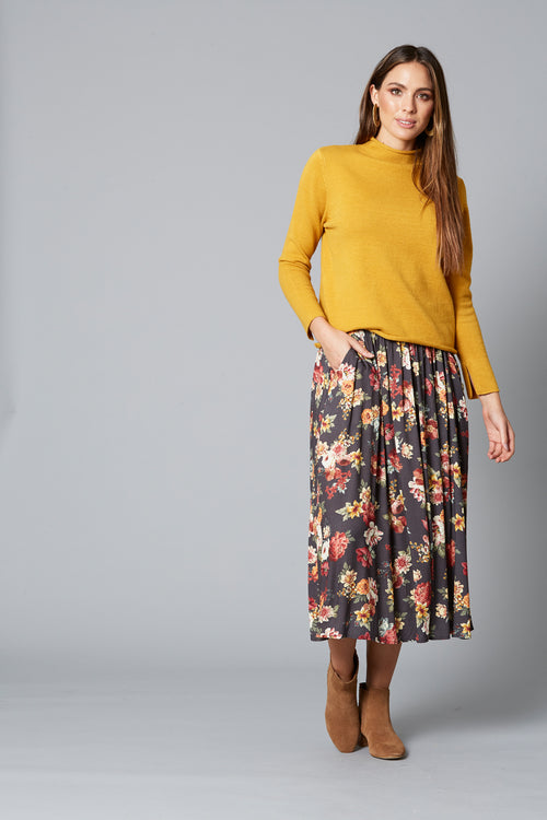 DAWN SKIRT IN WILDFLOWER