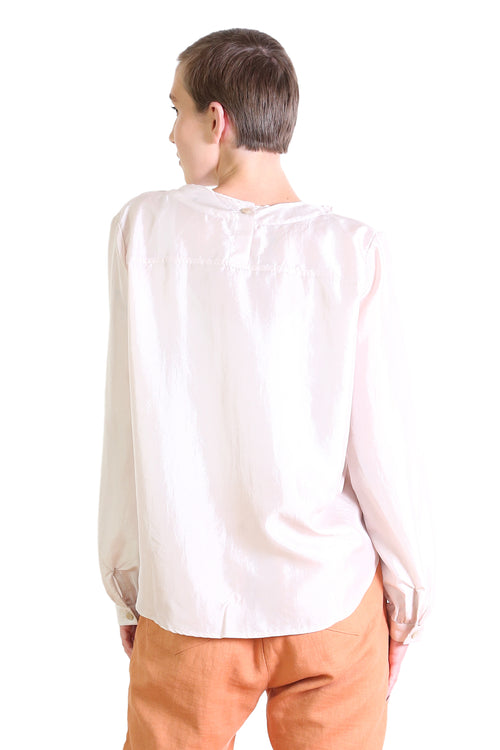 DA VINCI BLOUSE IN CREAM