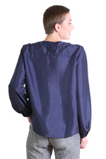 DA VINCI BLOUSE IN NAVY