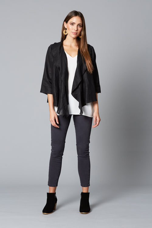 EVE JACKET IN BLACK