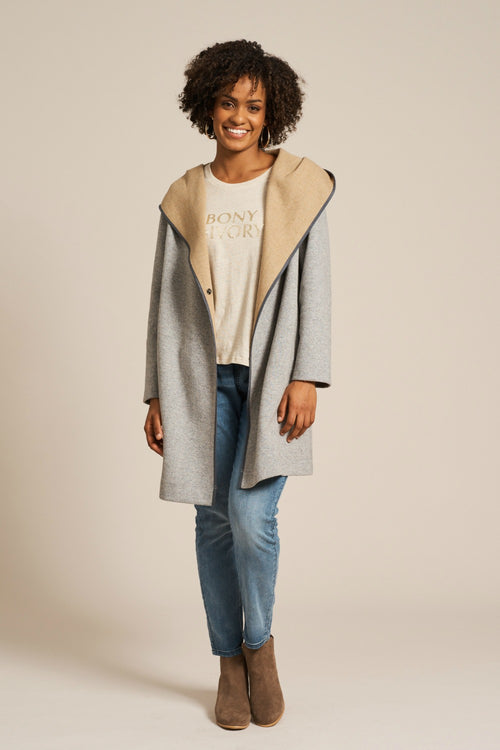 EVONNE JACKET IN GREY