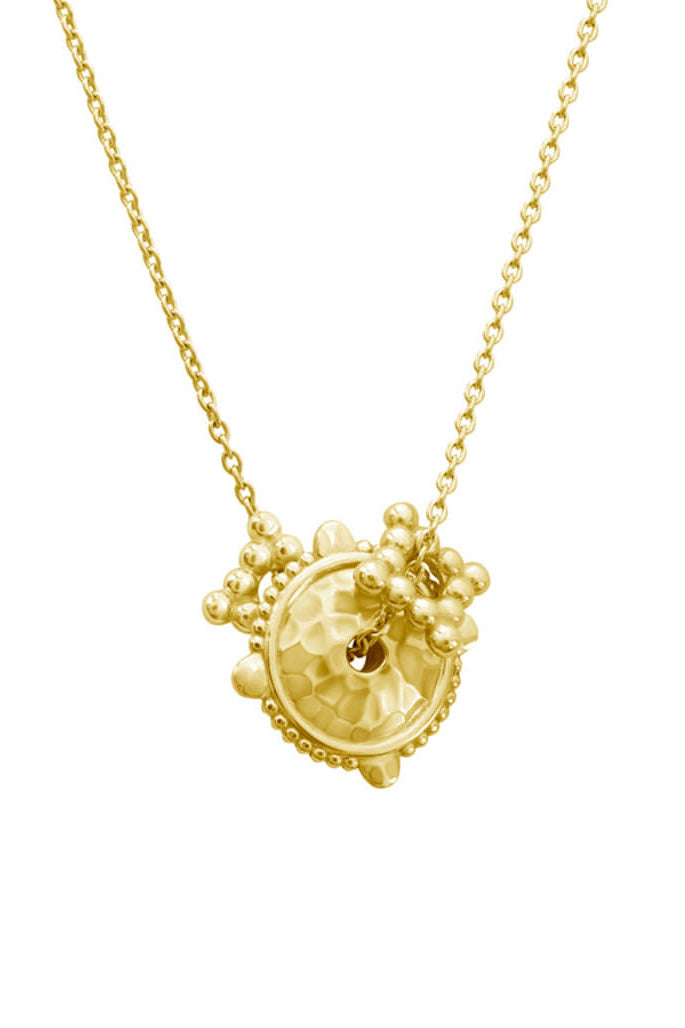 ESCAPE NECKLACE IN 18 KT YELLOW GOLD PLATE
