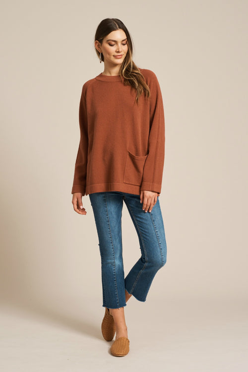 ITA KNIT IN TERRACOTTA