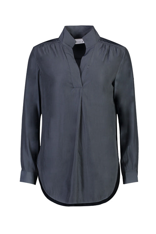 KILLING ME SOFTLY SHIRT IN GUNMETAL