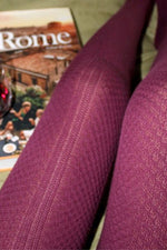 MEADOWS TIGHTS IN BURGUNDY