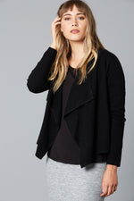 MINDFUL CARDI IN BLACK