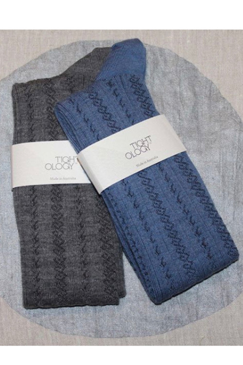 MONTE SOCKS IN GREY