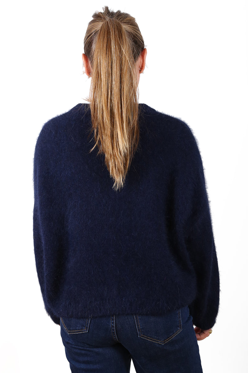 MONTREAL SWEATER IN NAVY BLUE