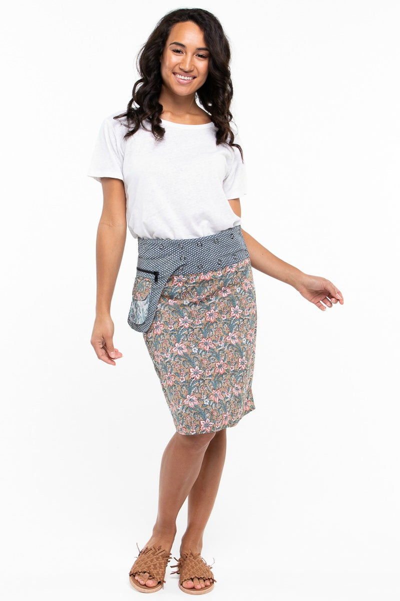 ROSANNA LONG SKIRT IN PENNY