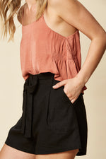SIELA SHORT IN BLACK