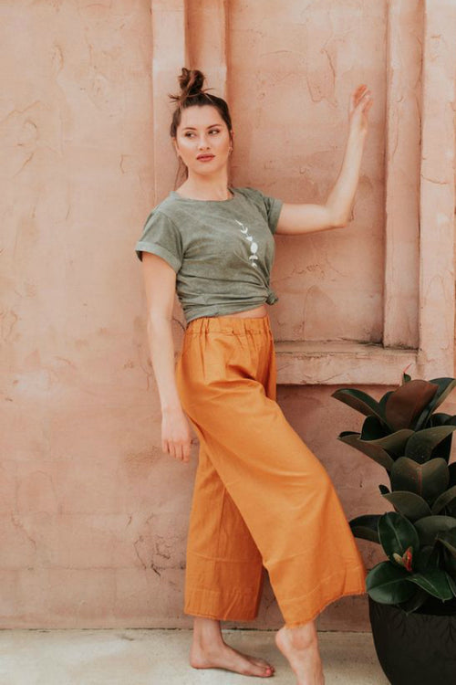 TEX HIGHLINE PANT IN TUMERIC